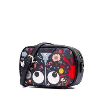 EYE THEME FASHION WELFARE CAMERA CROSSBODY BAG