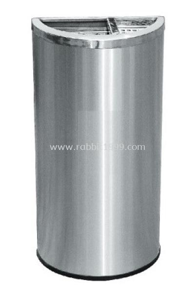 STAINLESS STEEL SEMI ROUND BIN - SRB-054/OT/A