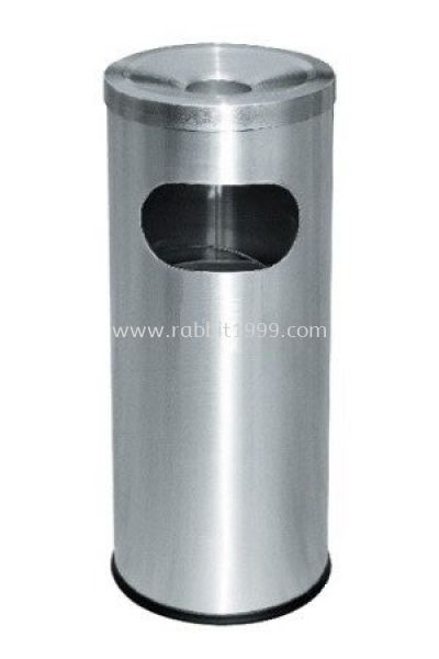 STAINLESS STEEL ASHTRAY TOP BIN - RAB-042/A