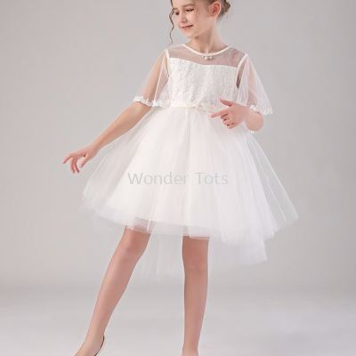 Xmas series - Anglelic White Organza Dress