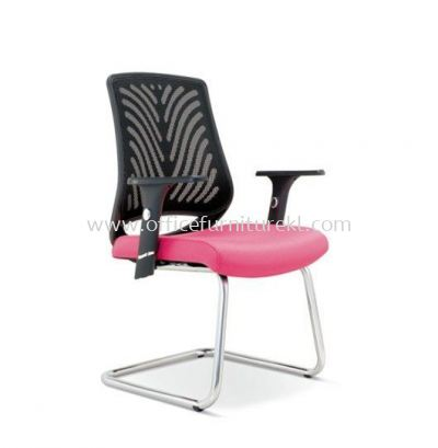 INSIST VISITOR ERGONOMIC MESH CHAIR WITH CHROME CANTILEVER ASE 2626