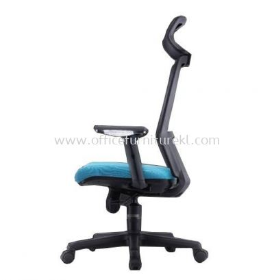MALLOW 2 HIGH BACK ERGONOMIC MESH CHAIR ADJUSTABLE ARMREST C/W POLYPROPYLENE BASE