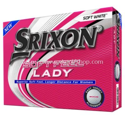 SRIXON SOFT FEEL LADY NEW MODEL 2021 GOLF BALLS