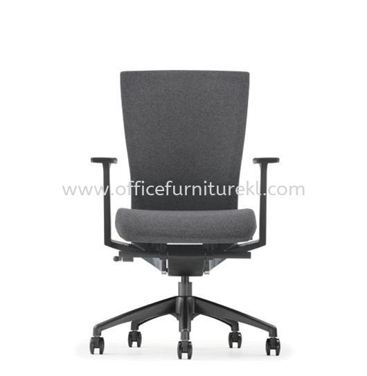 MAXIM MEDIUM BACK SOFTEC ERGONOMIC CHAIR C/W ROCKET NYLON BASE AMX 8111F-20A