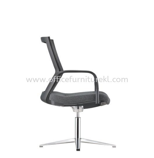 MAXIM VISITOR BACK SOFTEC ERGONOMIC CHAIR C/W ALUMINIUM BASE AMX 8114F-19A