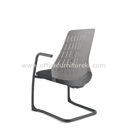 PICO VISITOR BACK PP ERGONOMIC CHAIR WITH ARM AND EPOXY CANTILEVER BASE APC 8623A-89EA