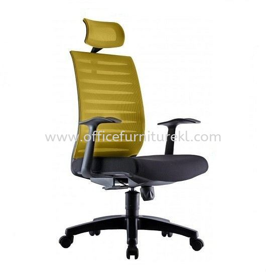 PROTECH 1 HIGH BACK ERGONOMIC MESH CHAIR C/W FIXED POLYPROPYLENE ARMREST