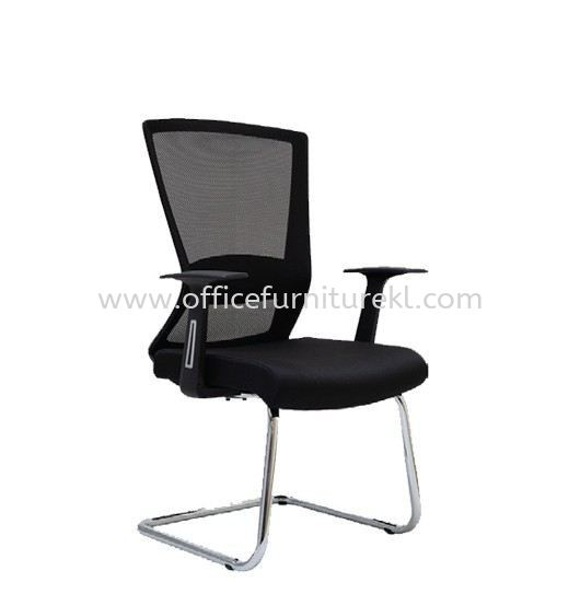 WILLY 1 VISITOR ERGONOMIC MESH BACK CHAIR C/W CHROME CANTILEVER BASE