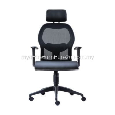 D2095H Inov Mesh Director Chair Pu Leather