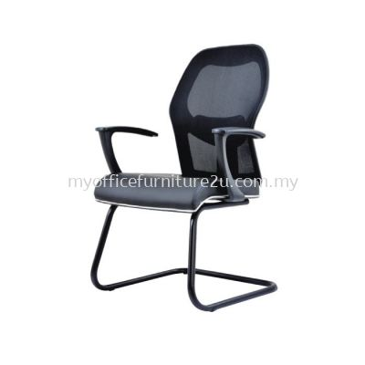 V2097S Inov Mesh Visitor Chair Pu Leather