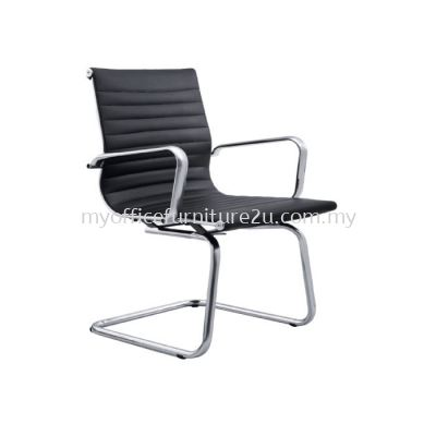 V2713S Modern Visitor Chair Pu Leather