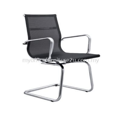 V2717S Modern Mesh Visitor Chair