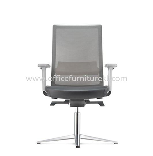 SURFACE VISITOR ERGONOMIC MESH BACK CHAIR C/W 4 PRONGED ALUMINIUM BASE ASF 8414L