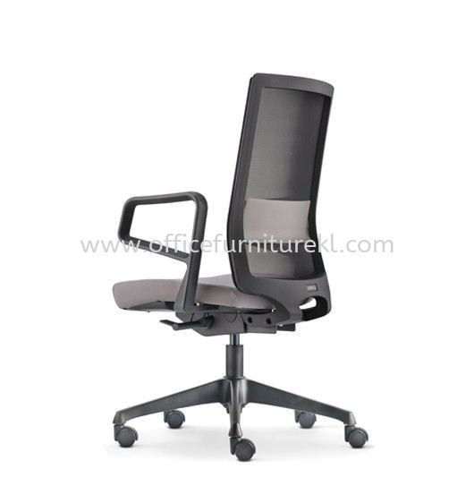SURFACE MEDIUM BACK ERGONOMIC MESH CHAIR C/W ROCKET NYLON BASE ASF 8411N 1