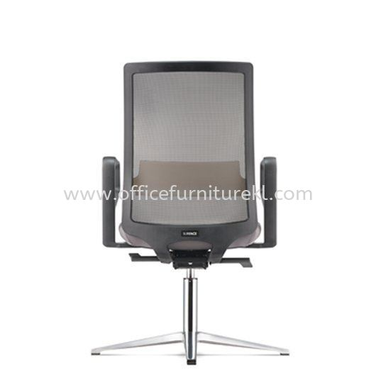 SURFACE VISITOR ERGONOMIC MESH CHAIR C/W 4 PRONGED ALUMINIUM BASE ASF 8414N