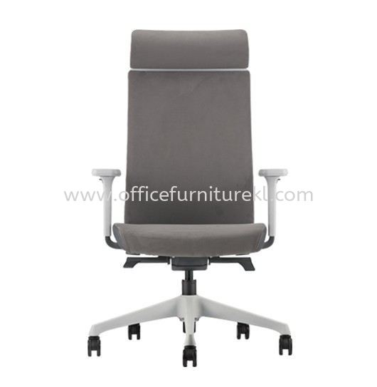 SURFACE HIGH BACK PU ERGONOMIC CHAIR C/W ROCKET NYLON BASE ASF 8410P