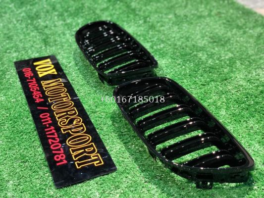 bmw e60 m5 grille gloss black dual slat for bmw e60 replace upgrade performance look brand new set