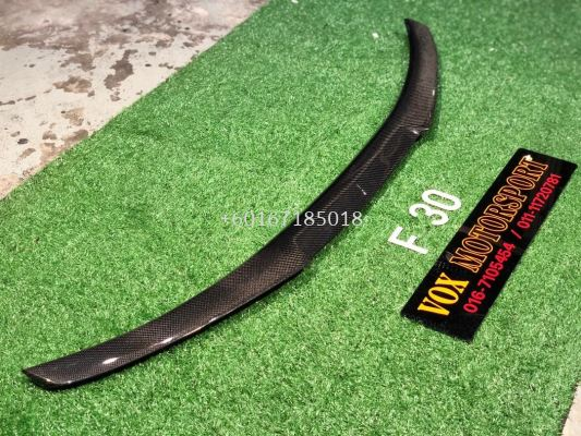f30 3 series m4 spoiler carbon fiber for bmw f30 add on upgrade performance look brand new set