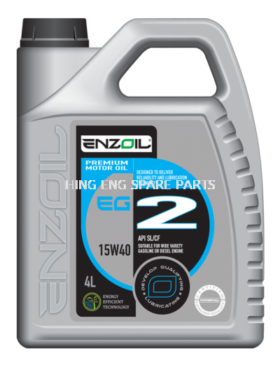 ENZOIL EG2 15W-40 ENGINE OIL 4LITER