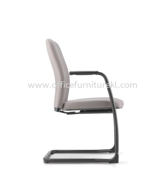ARONA EXECUTIVE VISITOR FABRIC CHAIR C/W EPOXY BLACK CANTILEVER BASE AR-4F