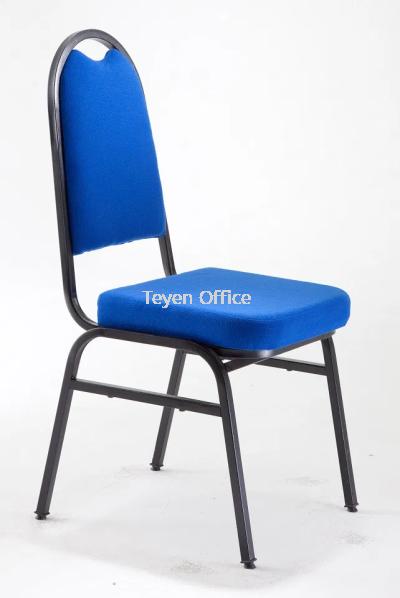 Banquet chair/Dining chair/Seminar Chair/Training chair Epoxy black 907 E