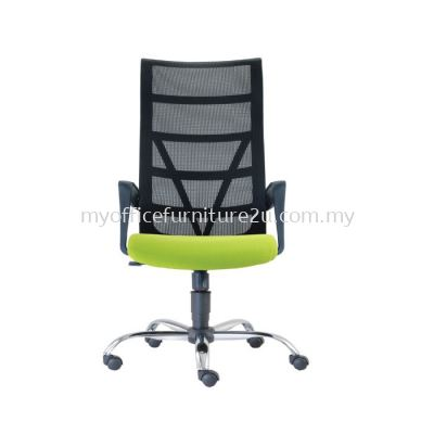 D2671H- Point Mesh Director Chair Pu Leather