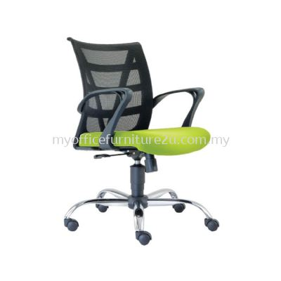 L2672H Point Mesh Executive Chair Pu Leather