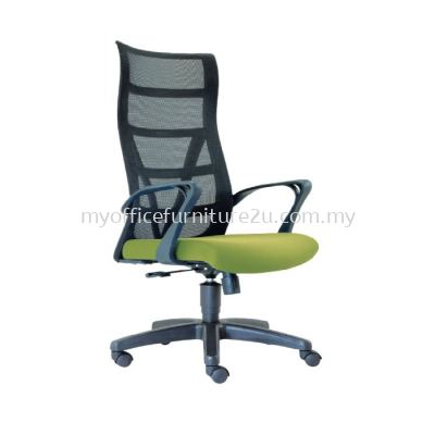 D2675H Point Mesh Director Chair Pu Leather