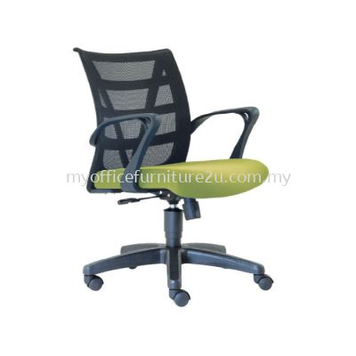 L2676H Point Mesh Executive Chair Pu Leather