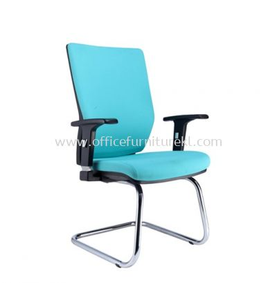 INFLORA 2 EXECUTIVE VISITOR BACK CHAIR C/W CHROME CANTILEVER BASE VA