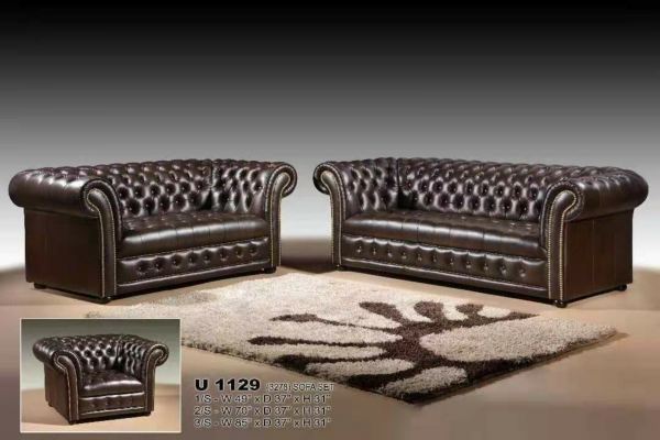 Royal Chesterfield Sofa Exclusive Design 1 seater 2 seaters and 3 seaters