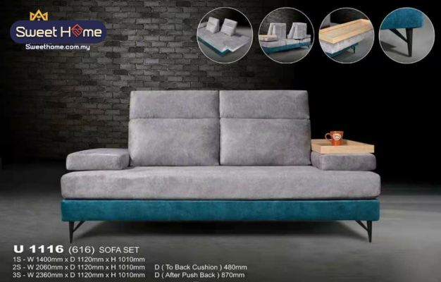 8ft 3 seaters Fully washable design Sofa