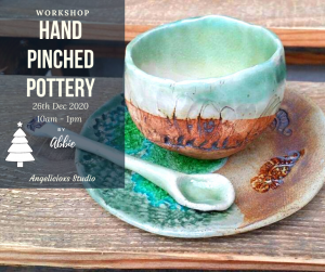Hand Pinched Pottery Workshop