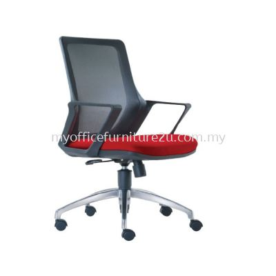 M2691H Real Mesh Executive Chair Pu Leather