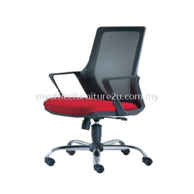 M2692H Real Mesh Executive Chair Pu Leather
