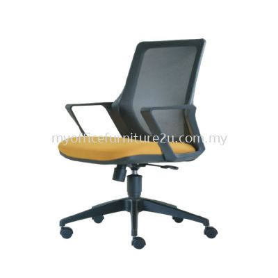 M2693H Real Mesh Executive Chair Pu Leather
