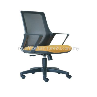 M2694H Real Mesh Executive Chair Pu Leather