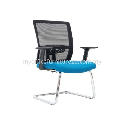 V2953S Spec Mesh Visitor Chair Pu Leather