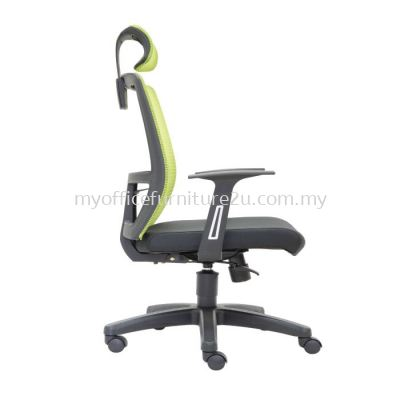 D2955H Spec Mesh Director Chair Pu Leather