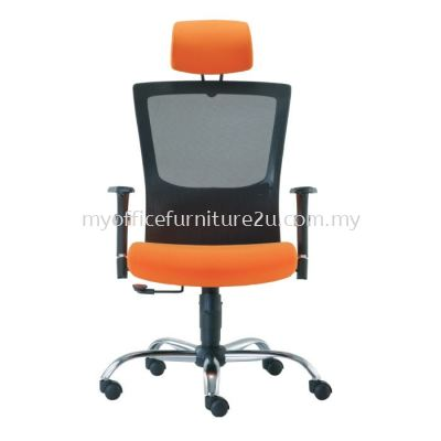 D2681H Victory Mesh Director Chair Pu Leather