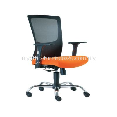 M2682H Victory Mesh Executive Chair Pu Leather