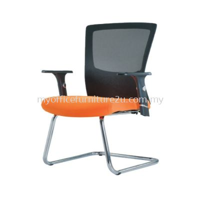 V2683S Victory Mesh Visitor Chair Pu Leather