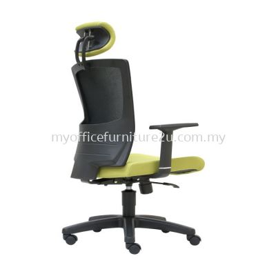 D2685H Victory Mesh Director Chair Pu Leather