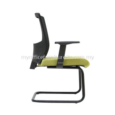 V2687S Victory Mesh Visitor Chair Pu Leather