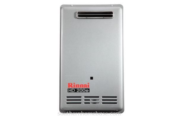 RINNAI 26L EXTERNAL GAS WATER HEATER