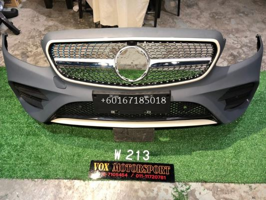 w213 e class amg bumper fit for mercedes benz w213 e class replace upgrade performance look pp material brand new