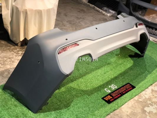 g30 m sport rear bumper bodykit convertion for bmw g30 replace upgrade performance look pp material brand new set