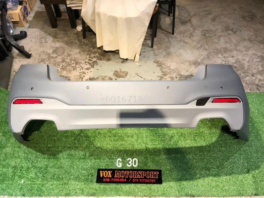 g30 5 series m sport rear bumper bodykit convertion for bmw g30 replace upgrade performance look pp material brand new set