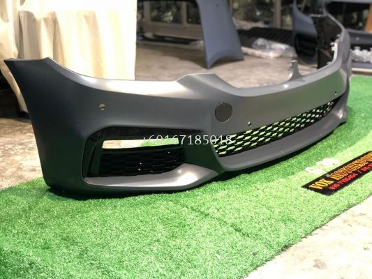 g30 5 series m sport bumper bodykit convertion for bmw g30 replace upgrade performance look pp material brand new set