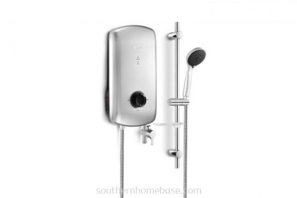 RINNAI CRYSTAL ELECTRIC WATER HEATER HANDSHOWER NO PUMP REI-B380NP-S